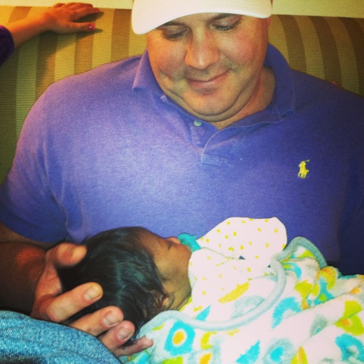 Brother Chase and Baby Jones
