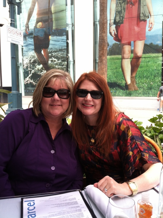 Lunch in Santa Monica with Paula (Patrick & Susan not pictured)